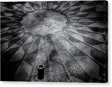 Canvas Print featuring the photograph Imagine - Strawberry Fields by James Howe