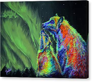 Imagine Canvas Print by Teshia Art