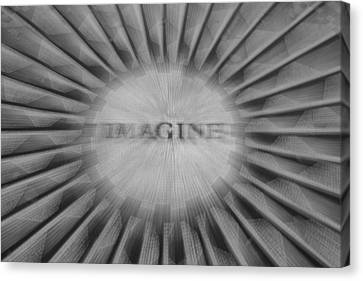 Imagine Zoom Canvas Print