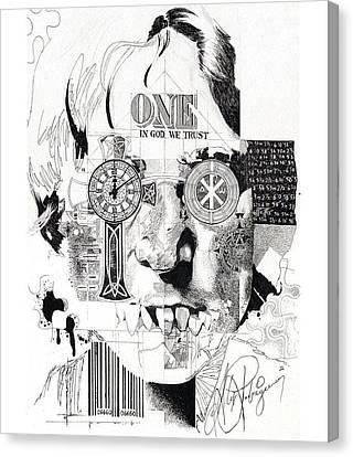 Imagineer Canvas Print by Alex Rodriguez