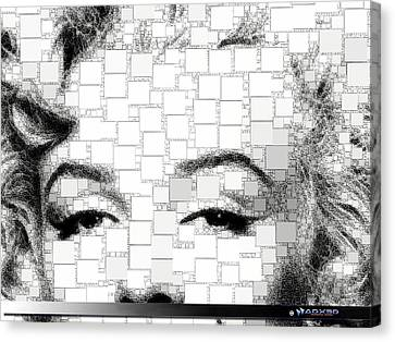 iMarilyn 009 Canvas Print