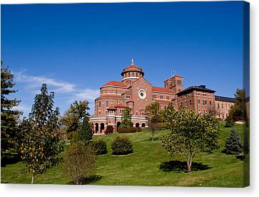 Immaculate Conception Monastery Canvas Print by Sandy Keeton