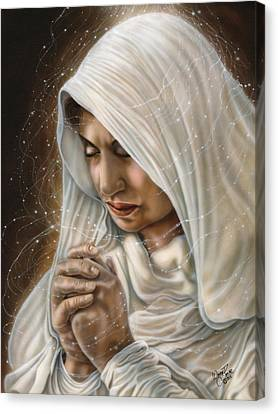 Immaculate Conception - Mothers Joy Canvas Print