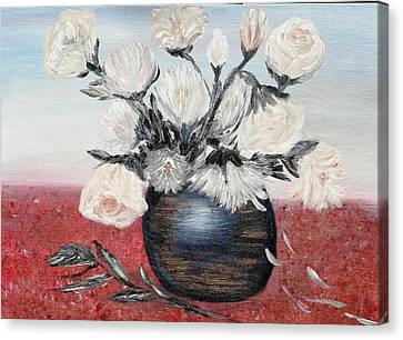 Immaculates Canvas Print by Corina Blejan Lupascu