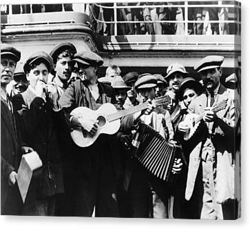 Immigrant Band, C1905 Canvas Print by Granger