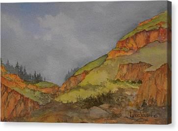 Imnaha Bluffs Canvas Print
