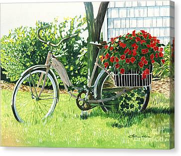 Impatiens To Ride Canvas Print