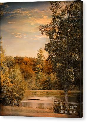 Impending Autumn Canvas Print