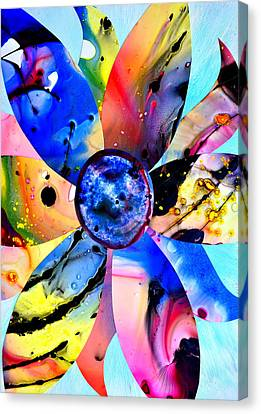 Canvas Print featuring the digital art Imperfection by Christine Ricker Brandt