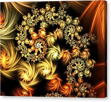 Imperial Ornament Canvas Print by Georgiana Romanovna