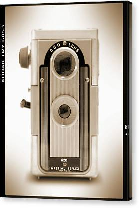 Imperial Reflex Camera Canvas Print by Mike McGlothlen