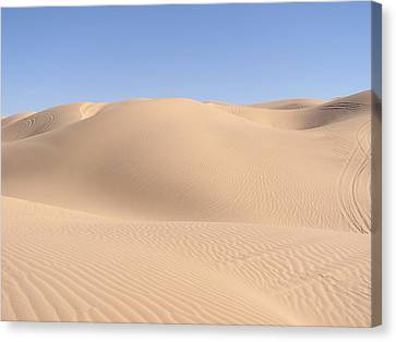 Imperial Sand Dunes Canvas Print by Jewels Blake Hamrick