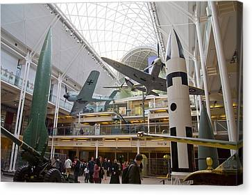 Imperial War Museum Canvas Print by Mark Williamson