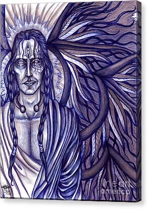 Imperium Draconis Fumus Homicidium Canvas Print by Coriander  Shea