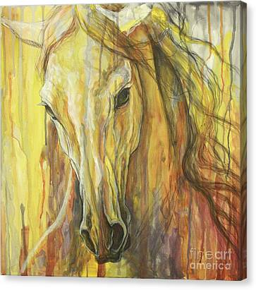 Impetus Canvas Print by Silvana Gabudean Dobre