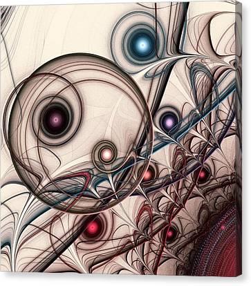 Implantation Canvas Print by Anastasiya Malakhova