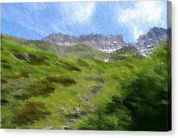 Imposing Canvas Print by Kevin Bone