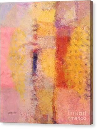 Impression Iv Canvas Print by Lutz Baar