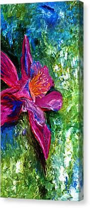 Impression Of Columbine Canvas Print