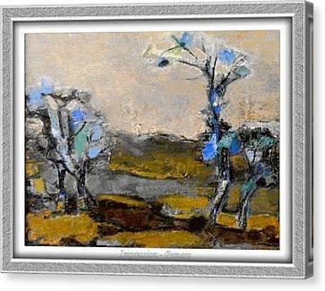 Impression Canvas Print by Pemaro