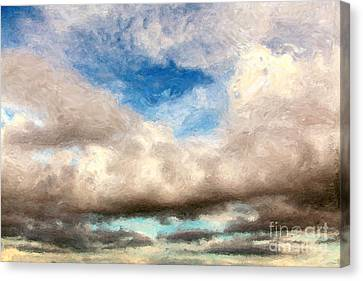 Impressionist Landscape Paintings Canvas Print by Boon Mee