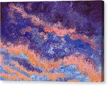 Impressionist Sunset Canvas Print by Tricia Griffith