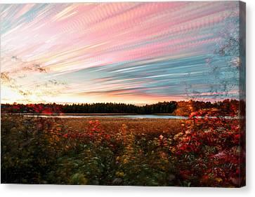 Impressionistic Autumn Canvas Print
