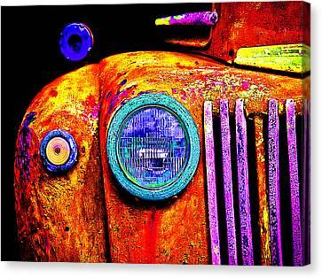 impressionistic photo paint GS 019 Canvas Print