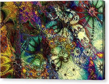 Impressions Canvas Print by Kiki Art