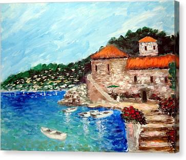 Impressions Of The Mediterranean Canvas Print