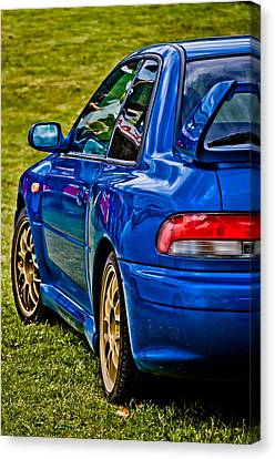 Impreza 22b Canvas Print by Phil 'motography' Clark
