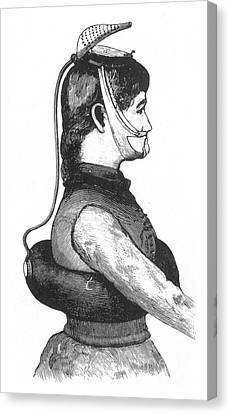Improved Life Preserver, 1886 Canvas Print