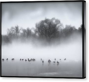 Improving Weather Canvas Print by Kellice Swaggerty