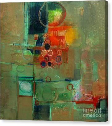 Improvisation Canvas Print by Michelle Abrams