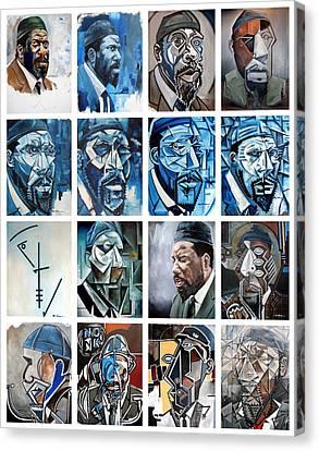Canvas Print - Improvised Metamorphoses by Martel Chapman
