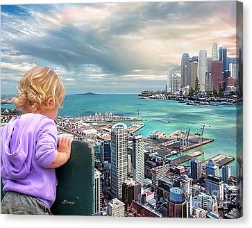 In A Perfect World? Canvas Print by Jennie Breeze