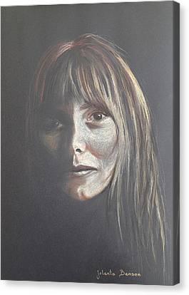In A Shadow Canvas Print