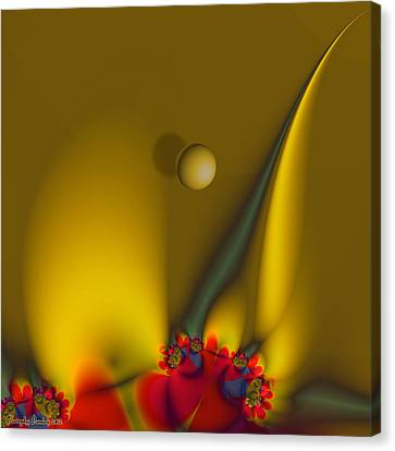In Addition To The Wind.  Canvas Print by Tautvydas Davainis