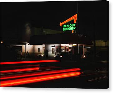 In And Out In Pasadena Canvas Print by Mountain Dreams
