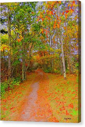 In Beauty I Walk Canvas Print
