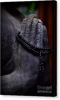 In Buddha's Hand Canvas Print by Paul Ward