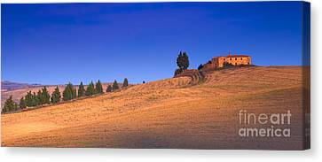 In Cima Canvas Print by Marco Crupi
