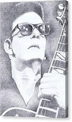 Roy Orbison Canvas Print - In Dreams by Paul Smutylo