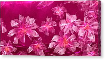 In Flower Canvas Print