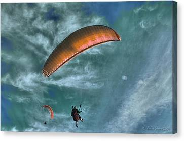 Canvas Print featuring the photograph In Heaven by Julis Simo
