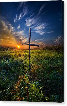 In His Glory Canvas Print by Phil Koch