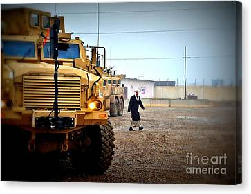 In Iraq Canvas Print by Liesl Marelli