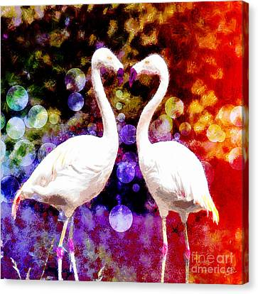 In Love Canvas Print by Nishanth Gopinathan