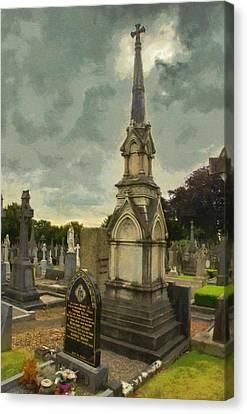 Jeff Daniels Canvas Print - In Loving Memory by Jeffrey Kolker