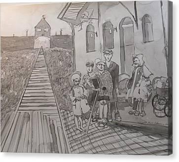 In Memoriam - Names For Lost Children Canvas Print
